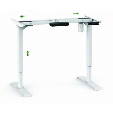 Стіл для роботи сидячи і стоячи з електроприводом